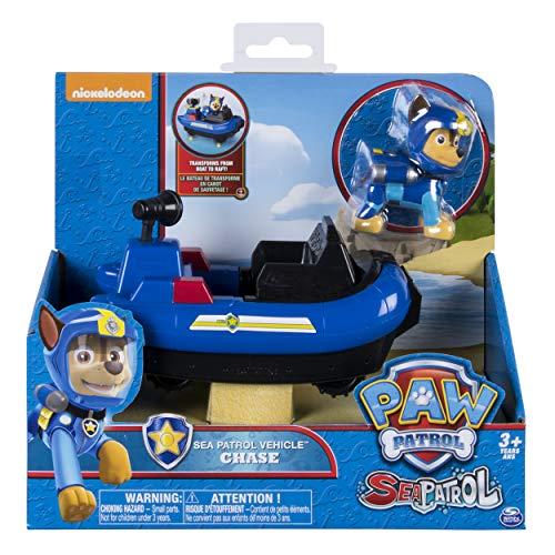 Paw Patrol 6040087 Chase Sea Patrol Vehículo