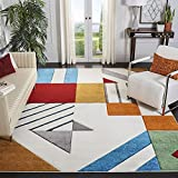 Safavieh Hollywood Collection HLW709B Mid-Century Modern Non-Shedding Stain Resistant...