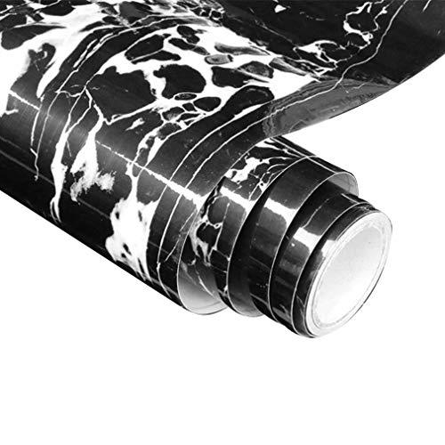 BLOUR Papel Pintado de mármol, Pegatinas de Pared Autoadhesivas de PVC a Prueba de Agua para decoración del hogar, Papel Tapiz para cajón, Cocina, baño