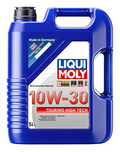 LIQUI MOLY 1272 Touring High Tech Motoröl 10 W-30 5 L