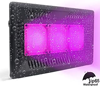 Tonpvou 1200W LED Plant Grow Light,with Adjustable Rope,Full Spectrum Plant Light for Indoor Plants Veg and Flower Grow Lamp with IR & UV Red Blue LED,Micro Greens,Clones,Succulents,Seedling(1200W)