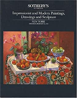 Sotheby's - Impressionist and Modern Paintings, Drawings and Sculpture - New York - Thursday, February 21, 1985