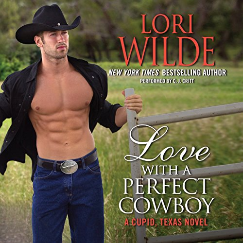Love with a Perfect Cowboy audiobook cover art