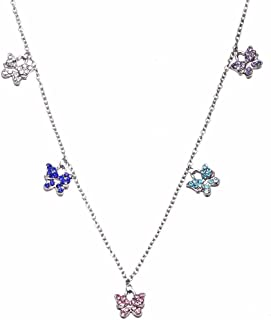 childrens butterfly necklace