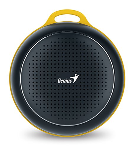 Genius SP-906BTBlack Outdoor Portable Bluetooth Speaker (Black)