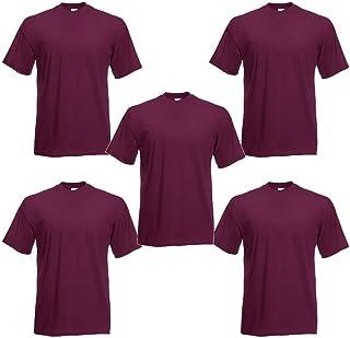 Fruit of the Loom Men's T-Shirt (Pack of 5)