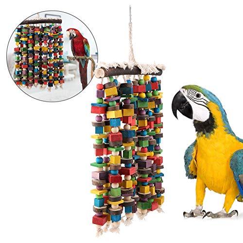 Vogels hangen speelgoed, kauwen hangen speelgoed voor papegaaien valkparkieten ara's houden van vogels vinken