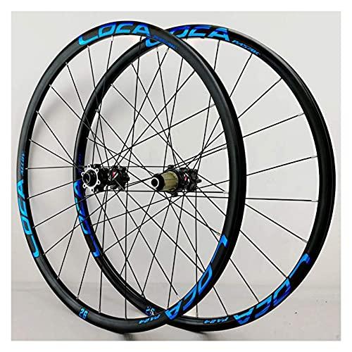 YBNB Ruedas De Ciclismo para 26 27,5 29 Pulgadas Juego De Ruedas De Bicicleta De Montaña Freno De Disco Ultraligero Sellado 6 Pawl 8-12 Velocidad 24H