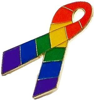 gay pride awareness ribbons
