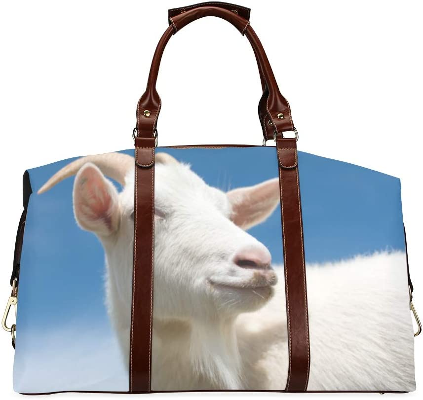 Mens Fashion Duffel Bag Shan Brand Cheap Sale Venue Purchase Yang Overs With Long Horn Classic A