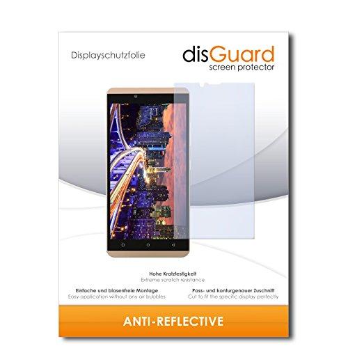 disGuard® Bildschirmschutzfolie [Anti-Reflex] kompatibel mit BLU Vivo XL [2 Stück] Entspiegelnd, Matt, Antireflektierend, Extrem Kratzfest, Anti-Fingerabdruck - Panzerglas Folie, Schutzfolie