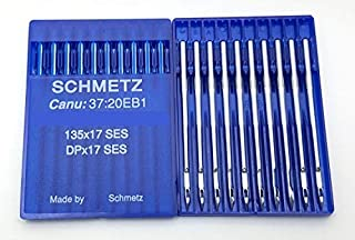 20 Schmetz Ball Point (SES) 135X17 DPX17 Industrial Walking Foot Sewing Machine Needles ~ Multiple Sizes! (18 (Metric 110))