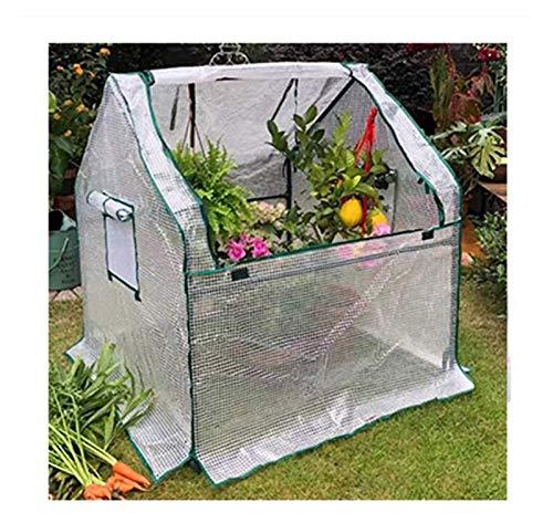 Mini Invernadero De Plantas Domésticas Y Crece Libremente Sala De Flores Aislamiento Fundas Tela A Prueba De Viento Anti-UV con Marco (Size : 90x90x90cm)