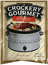 Best crockery gourmet seasoning mix for beef Reviews