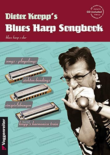 Blues Harp Songbook, mit CD, für die Blues Harp in C-Dur