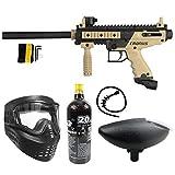 Maddog Tippmann Cronus Basic Bronze CO2 Paintball Gun Marker Starter Package - Black/Tan