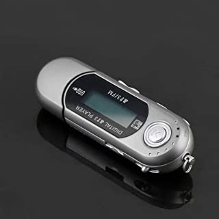 Bemodified Mini USB 2.0 Flash Drive High Speed Transfer LCD Display MP3 Music Player Backlight on LCD Providing Clear Disp...