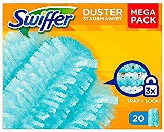 Swiffer dammmagnetduk, Mega påfyllningspaket, 1-pack (1 x 20 stycken)