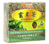 TRADITION Green Tea with Roasted Brown Rice 50 Individual Wrap Tea Bags 3.5 Oz