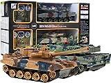 RC Control Remoto Batalla de Tanques con Humo
