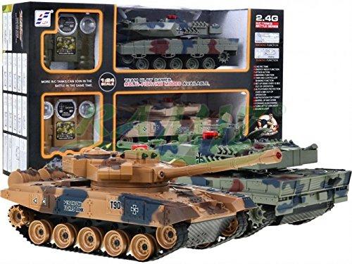 BSD RC Ferngesteuertes Kampf Der Panzer Mit Rauch 2.4G