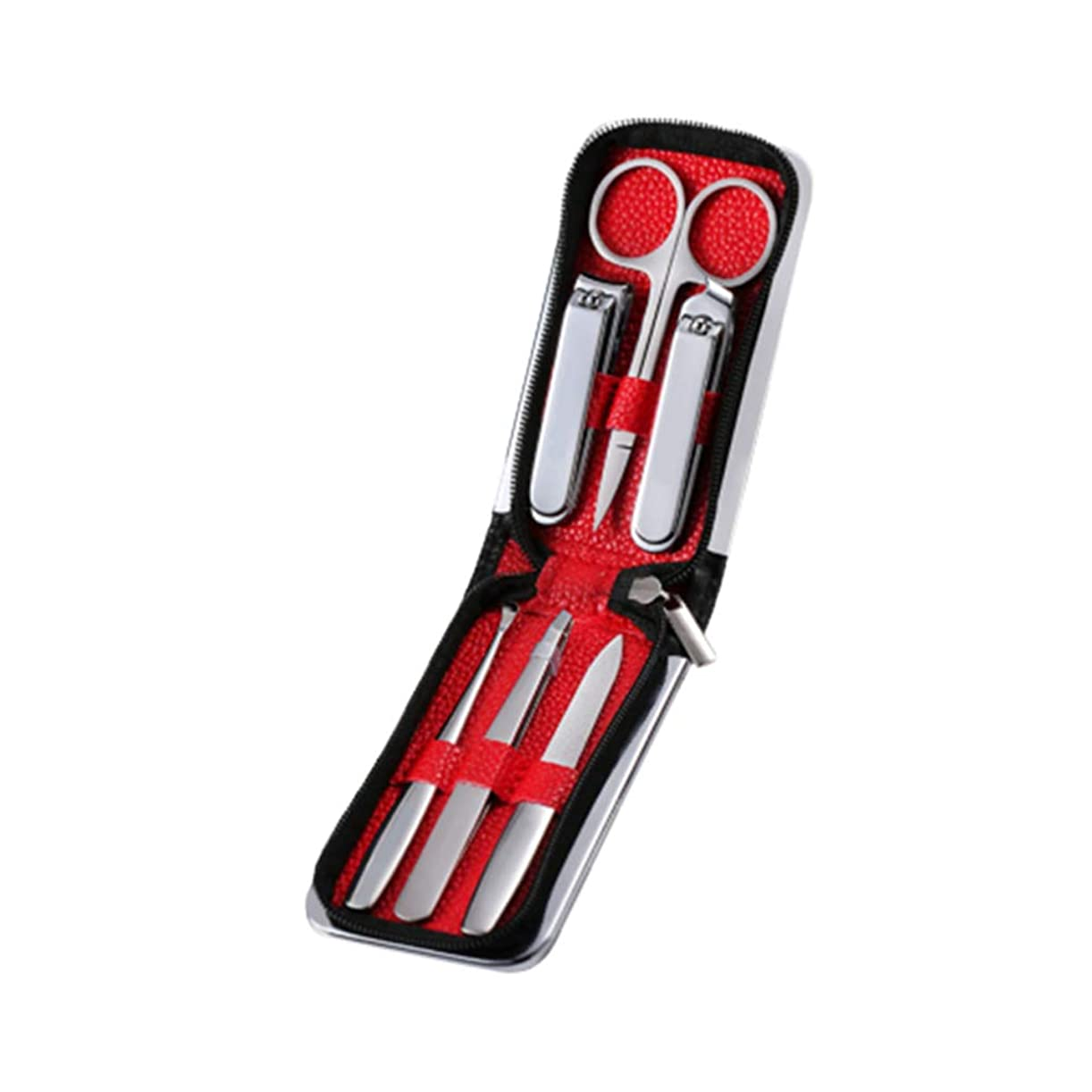 アーティファクト基本的なスマッシュHeallily 爪切り1セットの爪切りマニキュアツールセットケースステンレス鋼の爪カッタートリマーマニキュアツールキット男性女性屋外旅行