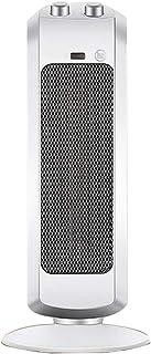 FEI Calefactor Calentador de Torre de cerámica - Calentador de Espacio de cerámica para Uso en oficinas, Ventilador con Calentador oscilante para el hogar Corte de Seguridad de inclinación