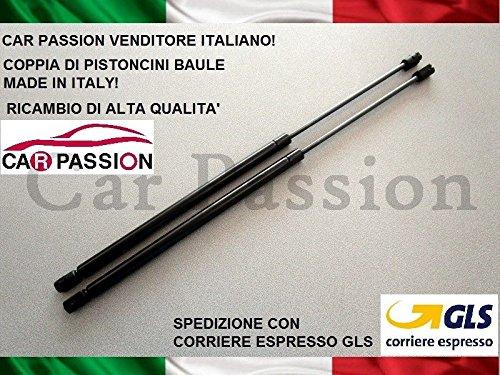 car passion Coppia Molle A Gas Pistoni AMMORTIZZATORI Cofano Posteriore PORTELLONE Baule