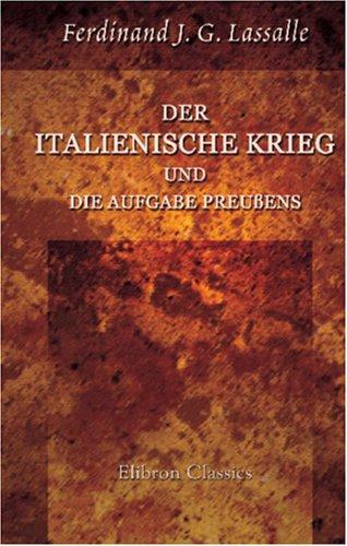 Der italienische Krieg und die Aufgabe Preußens