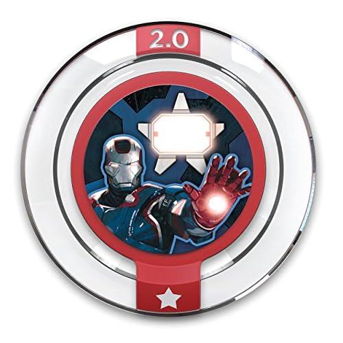 DISNEY INFINITY POWER DISCS 1.0 Wave 1,2,3 & RARES, works with 2.0 & 3.0#1 Iron Patriot
