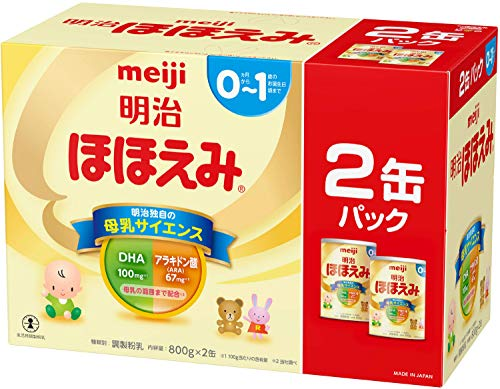 明治 ほほえみ 2缶パック 800g×2缶