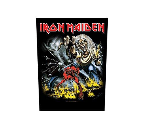 Unbekannt Iron Maiden Espalda parche–The Number