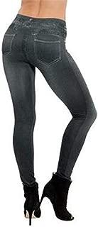 S-XXL Women Fleece Lined Winter Jegging Jeans Genie Slim Fashion Jeggings Leggings