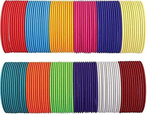 Bangle Bracelet for women girls Metal Bangle Set (Pack of 128) Size 2-4