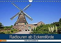 Radtouren ab Eckernfoerde (Wandkalender 2022 DIN A4 quer): Die Umgebung von Eckernfoerde ist ein Urlaubsparadies und mit dem Rad gut zu erkunden. (Monatskalender, 14 Seiten )