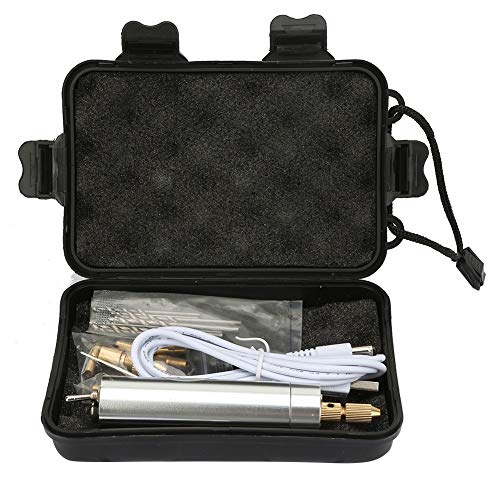 TAKE FANS Mini taladro eléctrico molinillo de velocidad ajustable, lápiz de pulido, juego de herramientas para herramientas eléctricas Family Tools