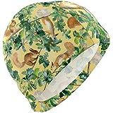 Simpatico scoiattolo sullalbero Lycra Swim Cap Nuoto per uomini Donne