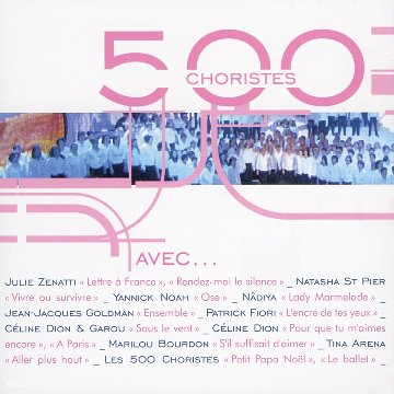 500 Choristes avec.