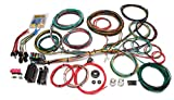 1966 Ford Mustang A/C Hoses, Pipes, O-Rings & Fittings - Painless Performance 10123 Customizable Ford Color Coded Chassis Harness (1966-1976) - 21 Circuits