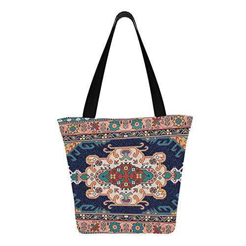 Alfombra de mosaico oriental colorida, folk tradicional, 11 × 7 × 13...