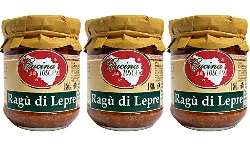 CUCINA TOSCANA - Ragù di Lepre - 3x180g