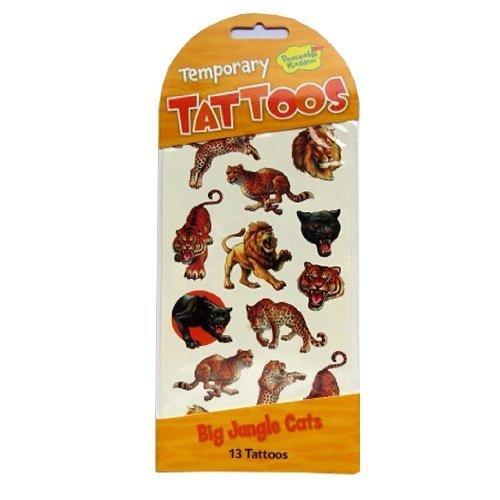 Jouer tatouages temporaires - Grands Chats de la Jungle