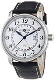 Zeppelin LZ 127 Transatlantic 7642-1 - Reloj de Caballero de Cuarzo, Correa de Piel Color Plata