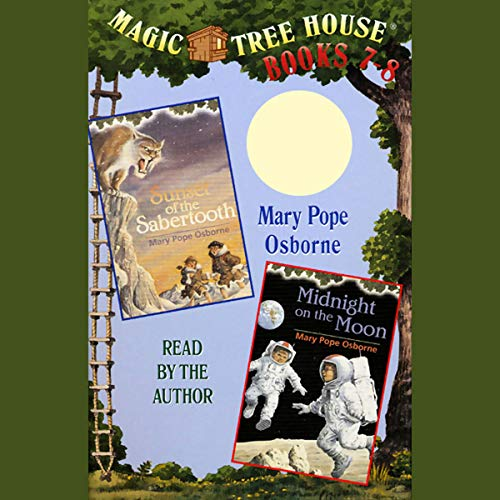 Magic Tree House: Books 7 and 8 audiobook cover art