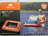 Ozark trail cooler float with two cup holders