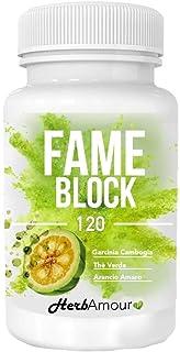 comprar comparacion HerbAmour Fame Block I 120 Pastillas Quema Grasas Potente Y Rapido I Capsulas Para Adelgazar Efectivas I Quemador Abdomina...
