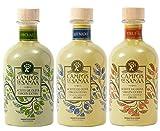 CAMPOS DE SANAA.- Pack de Aceite de Oliva Virgen Extra y Aceites aromatizados ( 3 x 250ml )