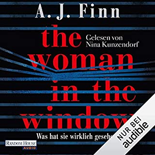 Couverture de The Woman in the Window: Was hat sie wirklich gesehen?