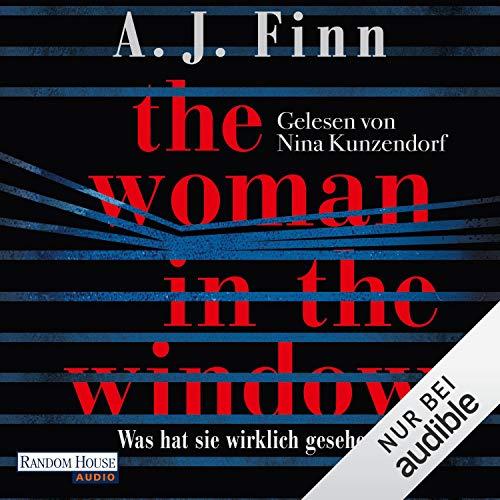 The Woman in the Window: Was hat sie wirklich gesehen? audiobook cover art