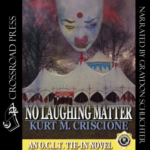 No Laughing Matter audiobook cover art